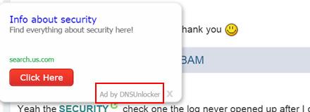 Anuncio de DNS Unlocker