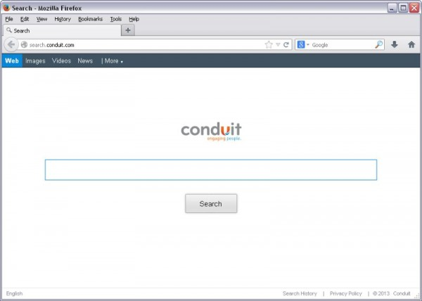 Como eliminar el virus Conduit Search (search.conduit.com)